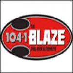The Blaze 104.1 FM - KIBZ-FM