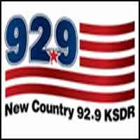 New Country 92.9 - KSDR-FM