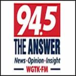94.5 WGTK The Answer